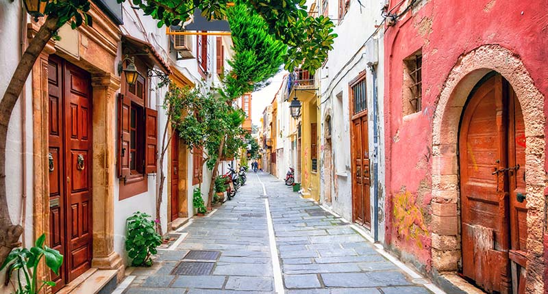 Europese vakantie bestemmingen in oktober Kreta