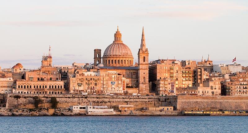 Europese vakantie bestemmingen in oktober Malta