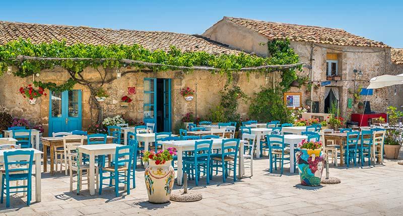 Europese vakantie bestemmingen in oktober Sicilie