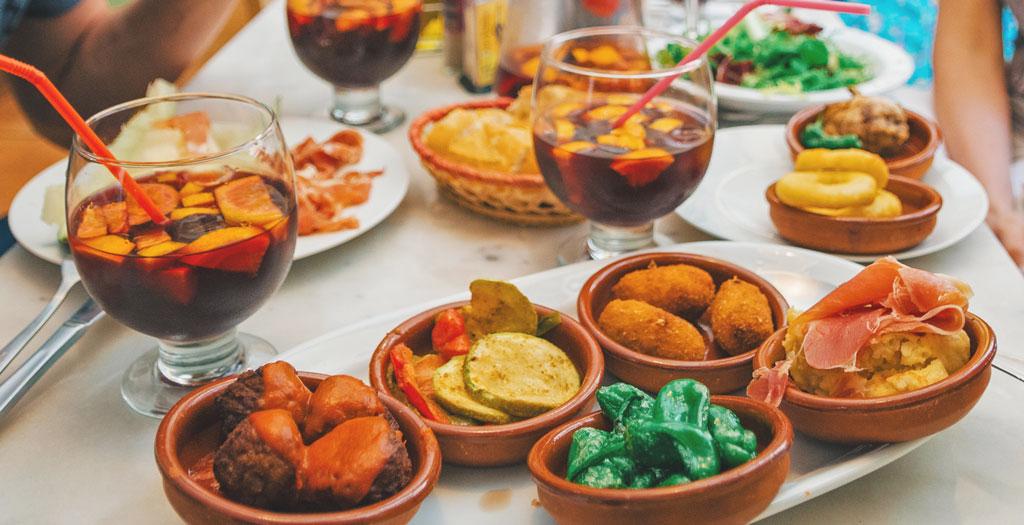 spanske tapas retter opskrifter
