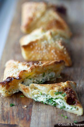 Den maltesiske butterdejssnack Pastizzi
