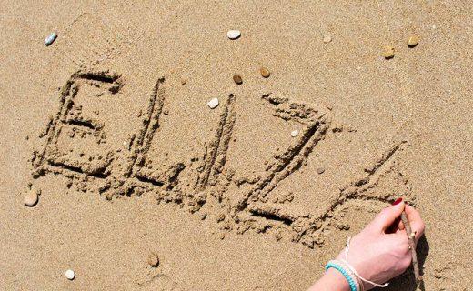 adresjes aan het strand