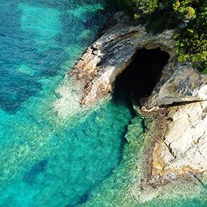 De grot van Aphrodite
