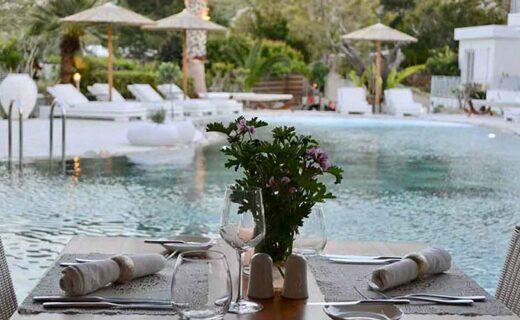 vakantieadresjes met een restaurant