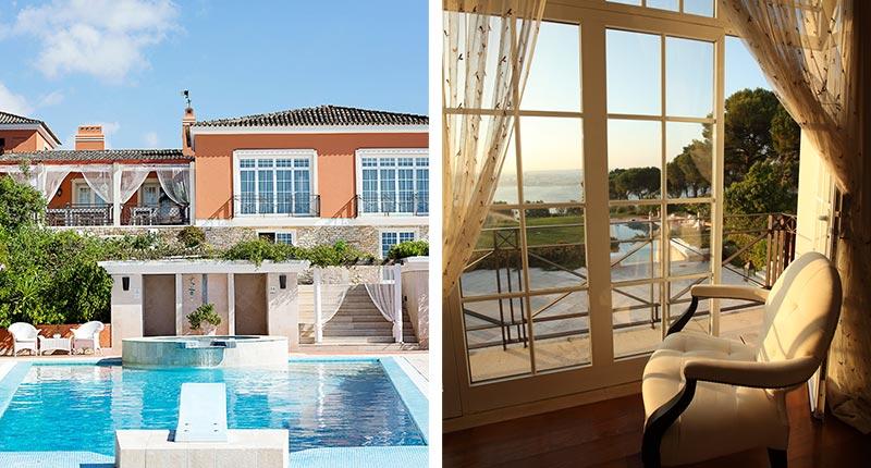 Luxe adresjes voor een huwelijksreis in Europa - Quinta dos Tagus Village