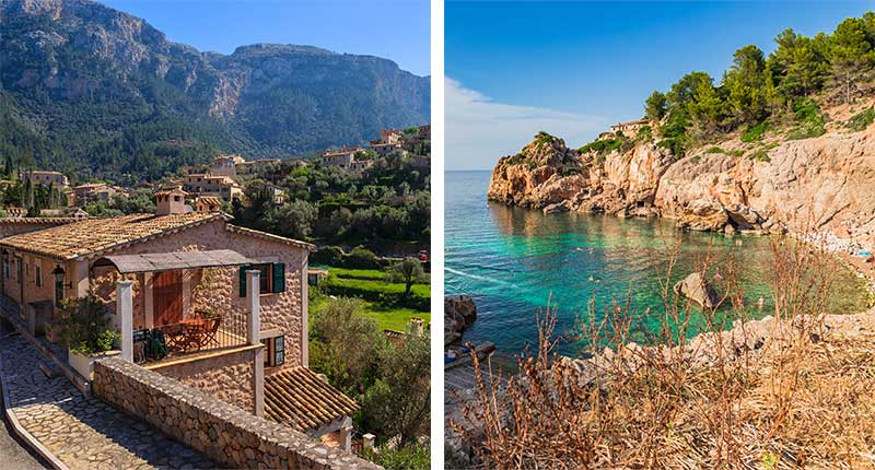 Mallorca kunstzinnig dorpje Deia