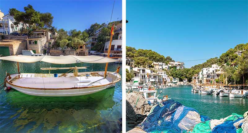 Mallorca Puerto de Cala Figuera
