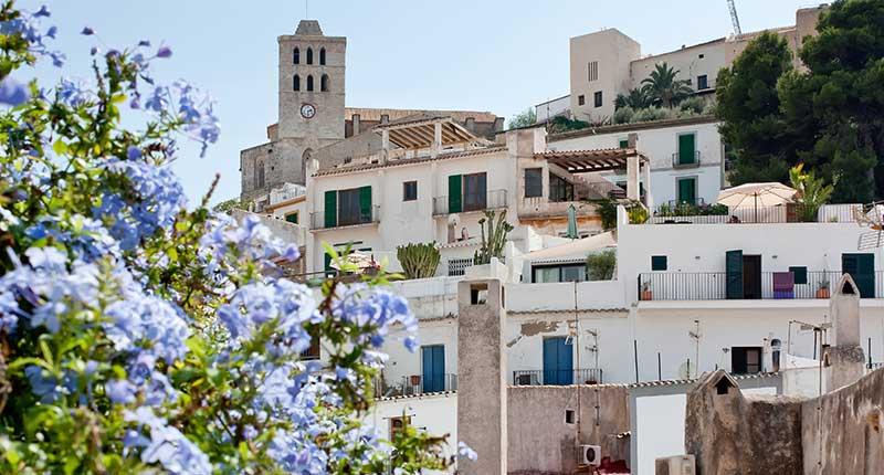 Hippiemarkten op Ibiza