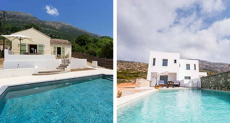 Vakantie Griekenland villa privézwembad