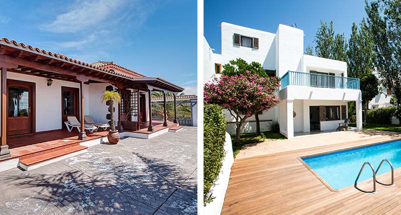 Luxe villa's voor een vakantie met vrienden