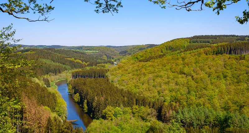 Ourthe-Vallei Ardennen
