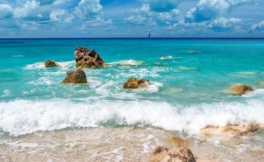 Fijne strandjes op het Griekse eiland Lefkas